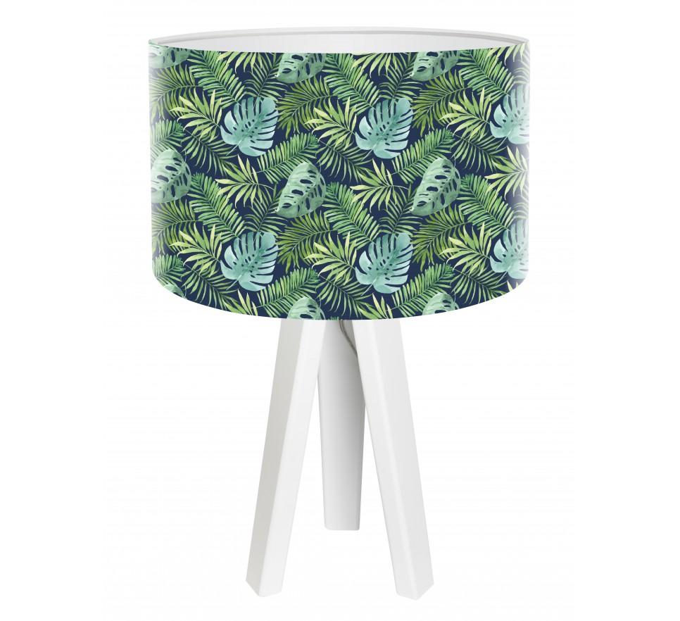 Egzotyczna lampa biurkowa MacoDesign Zielony gaj