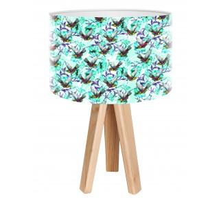 Egzotyczna lampa biurkowa MacoDesign Szalony koliber