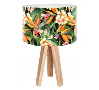 Modna lampa biurkowa MacoDesign Egzotyczna glorioza