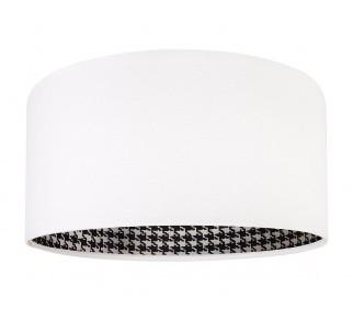 Nowoczesna lampa wisząca MacoDesign Pepitka biała 40 cm