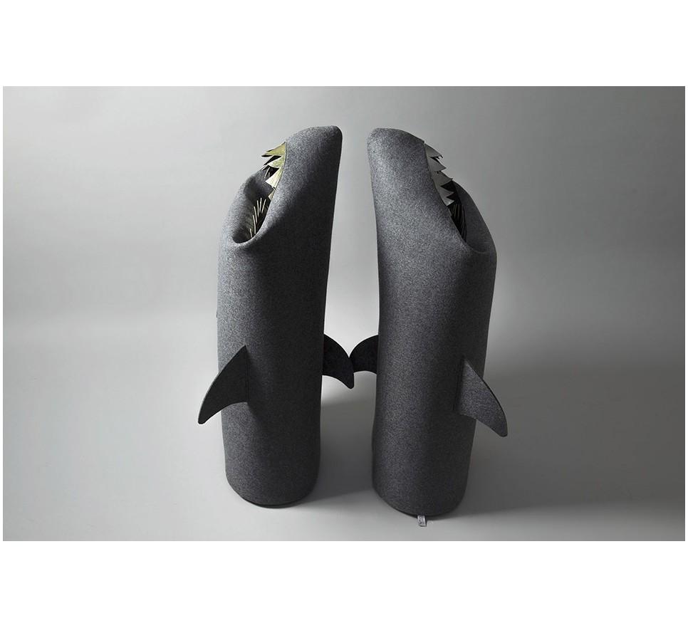 24aa7bd9828f3 REKIN ANTRACYT   ANTHRACITE SHARK. Filcowy kosz na pranie lub zabawki.