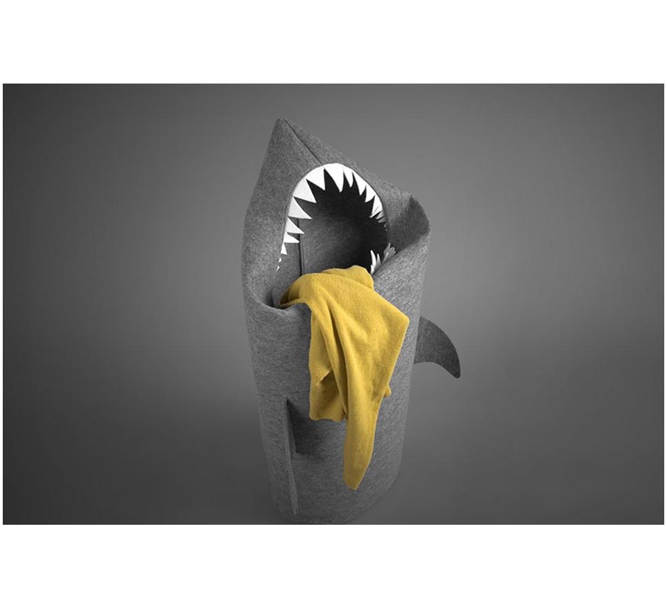 ef4f8445ab05a REKIN   SHARK. Filcowy kosz na pranie lub zabawki. Rozmiar L - Forum ...