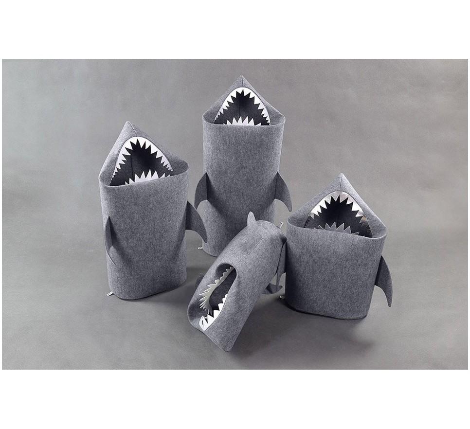 4aa6bb65fc6e7 REKIN. Filcowy kosz na pranie lub zabawki. Rozmiar M. - Forum Designu