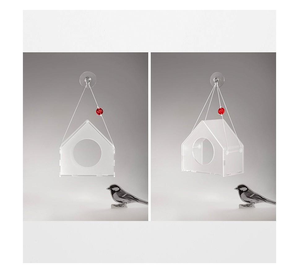 Karmnik BAUHAUS. Wiszące karmniki dla ptaków TWEET RESTO BAR.