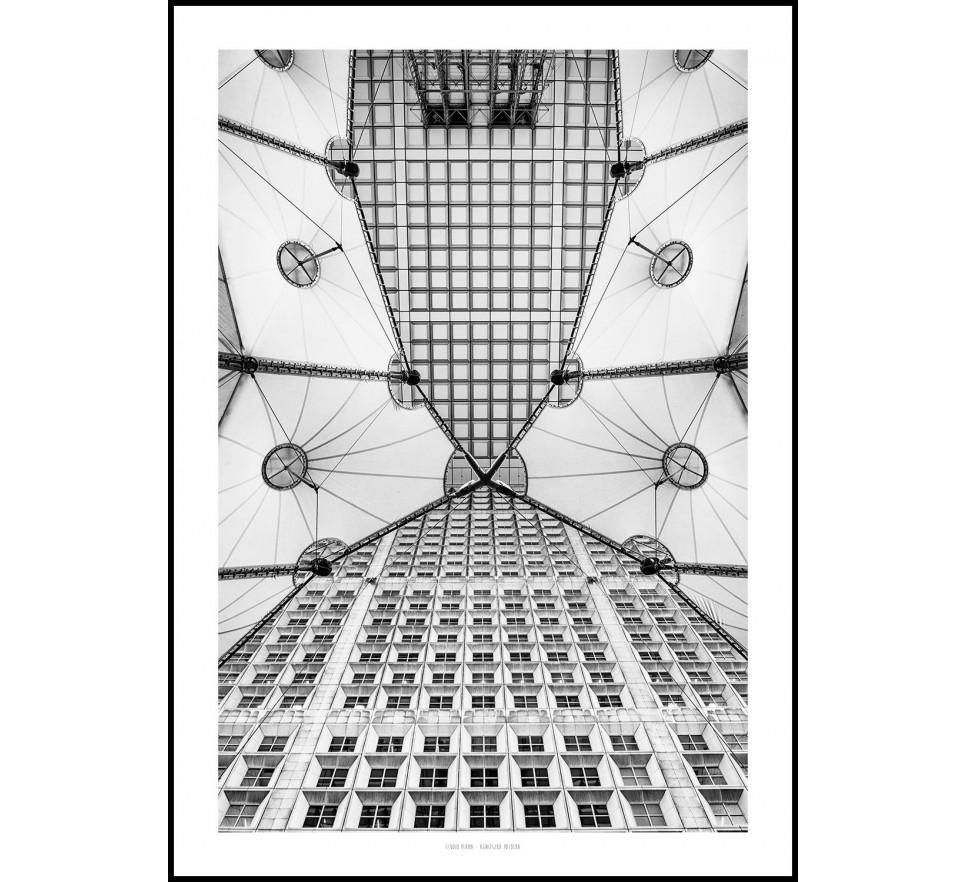 Grande Arche 100x70 w oprawie