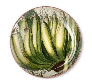 Talerz dekoracyjny Bananowiec