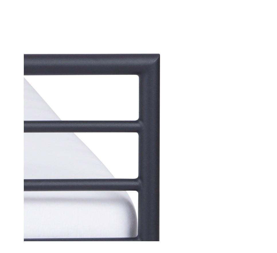 LINEA Łóżko metalowe minimalizm