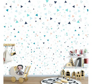 Tapeta - Mural Triangolango z serii EasyFit dla dzieci