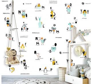 Tapeta - Mural Literynka z serii EasyFit dla dzieci