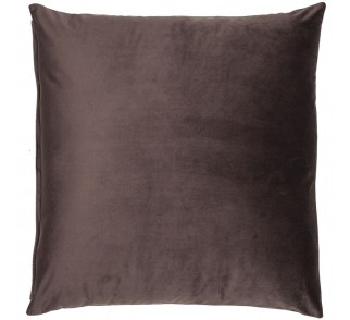 Modna aksamitna poduszka SWIT EARTH Brązowa