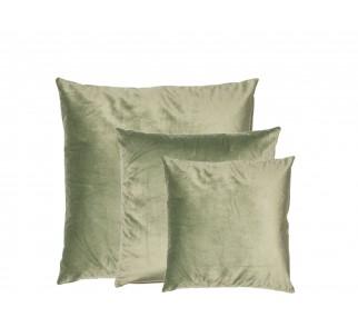 Aksamitna poduszka LAND SET Jedwabista zieleń