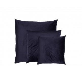 Aksamitna poduszka REFLEX BLUE SET granatowa