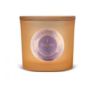 Świeca do aromaterapii Lawendowy Relaks