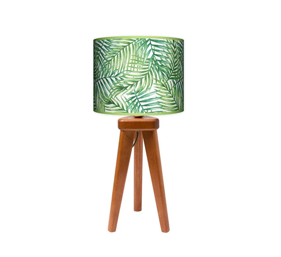 Lampa stołowa trójnóg mały - Palma_calvados