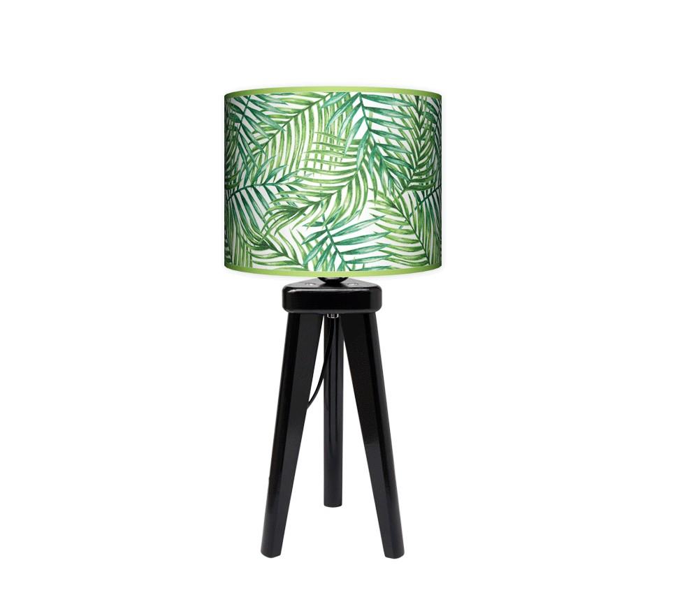 Lampa stołowa trójnóg mały - Palma_czarny