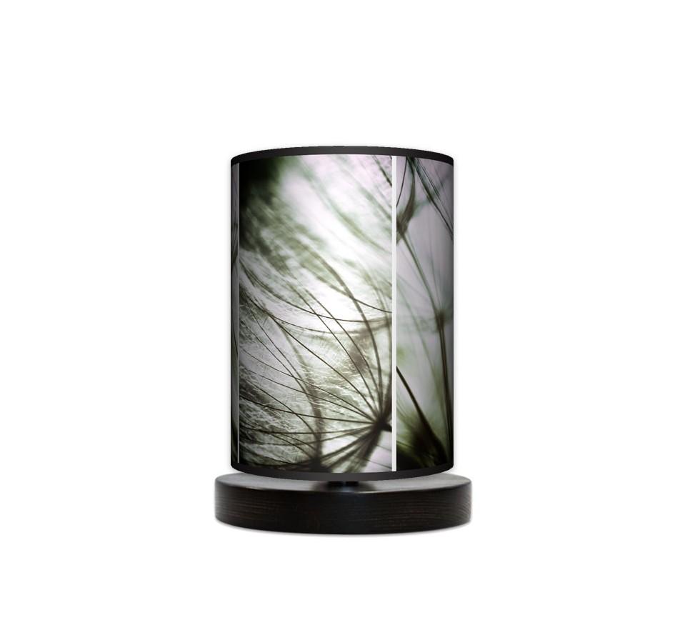 Lampa stojąca nocna mała - Tryptyk_wenge