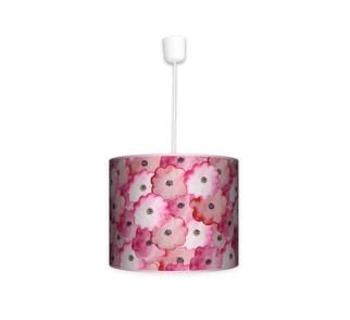Lampa wisząca mała - Wycinane kwiatki