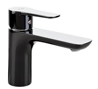 DALI BLACK Bateria umywalkowa stojąca z automatycznym korkiem spustowym