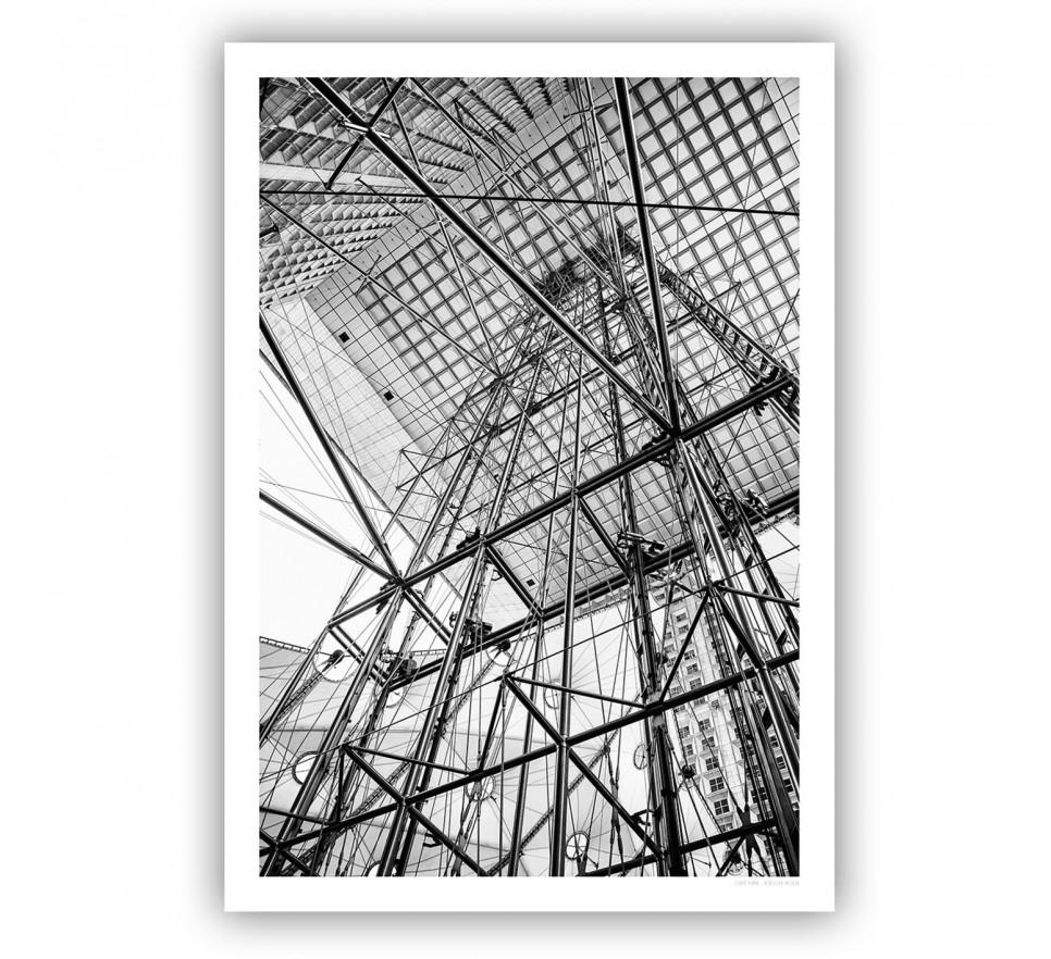 Grande Arche konstrukcja 100x70