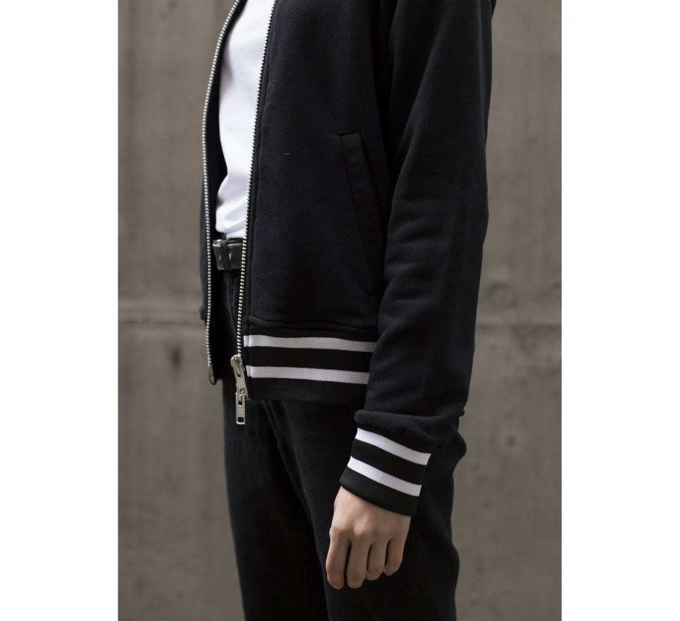 Double Zipper Bomber Jumper
