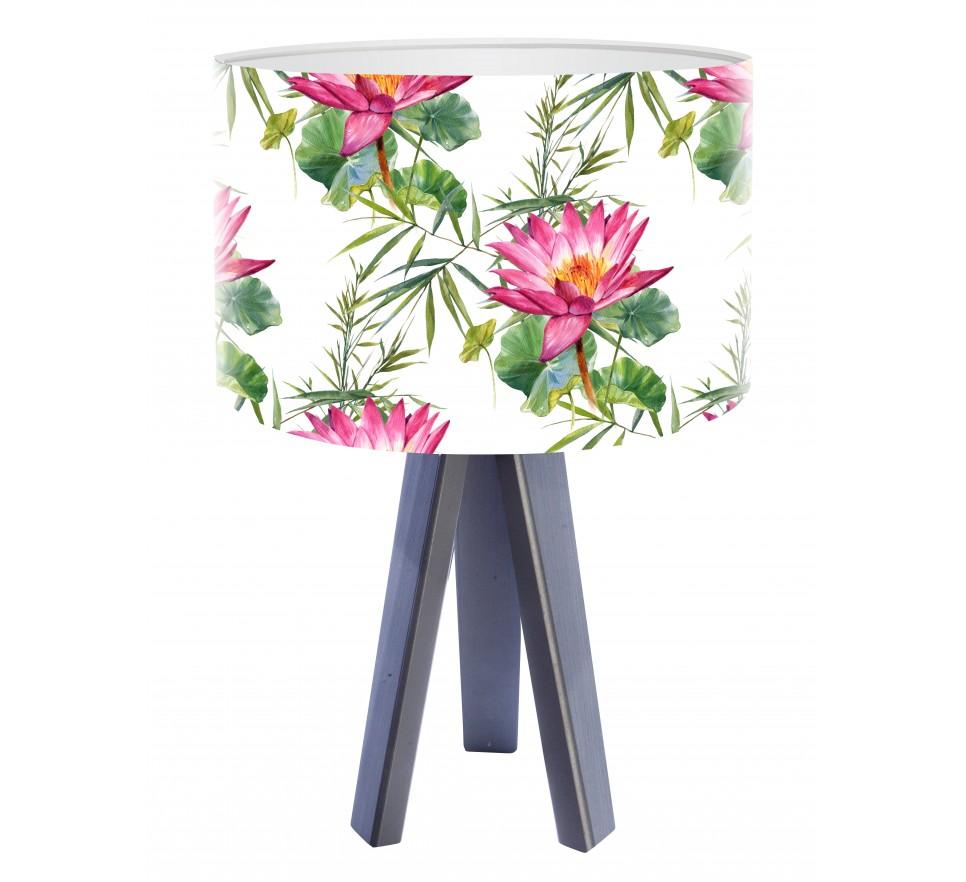 Egzotyczna lampa biurkowa MacoDesign Bunga tropiku