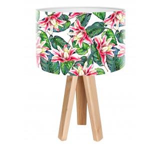 Egzotyczna lampa biurkowa MacoDesign Tropikalny granat