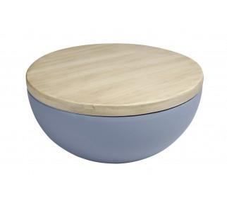 Stolik DOUGLAS MARCO POLO - imitacja betonu i drewna
