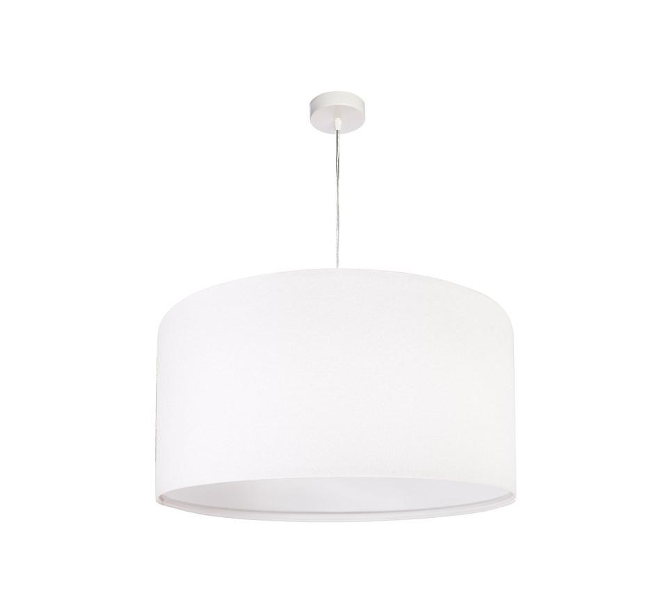 lasyczna biała lampa wisząca MacoDesign Lilia biała 50 cm