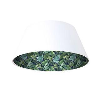 Lampa wisząca biała Wielki dzwon MacoDesign Zielony gaj