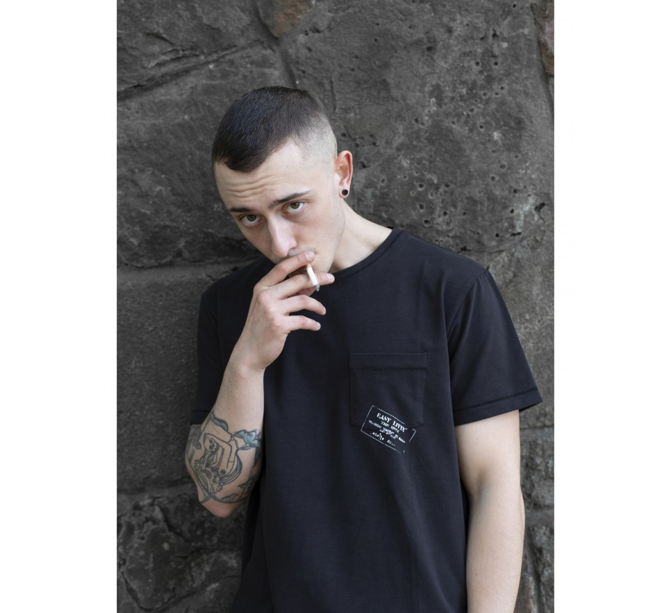 Easy stample pocket tee
