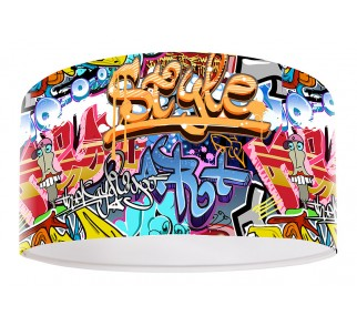 Modna lampa wisząca MacoDesign Grafitti Style