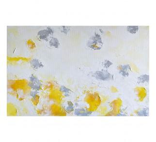 """Druk na płótnie """"Lato"""" 60x100 cm - obraz abstrakcyjny"""