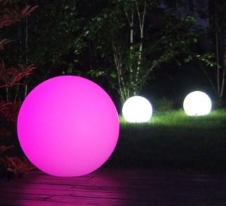 Lampa mBall kula świecąca RGB z pilotem | Ø 30cm