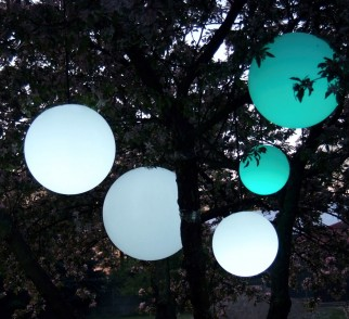 Lampa wisząca mBall kula świecąca | Ø 30cm