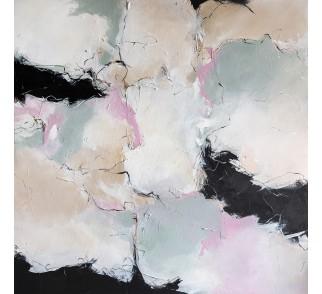 "Druk na płótnie ""Cukiernia"" 80x80 cm - obraz abstrakcyjny"