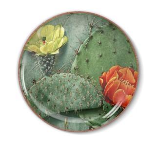 Talerz dekoracyjny Kaktus