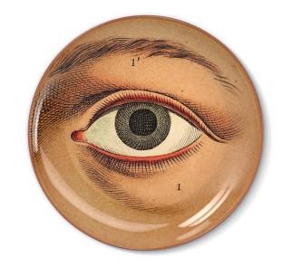 Talerz dekoracyjny Oko