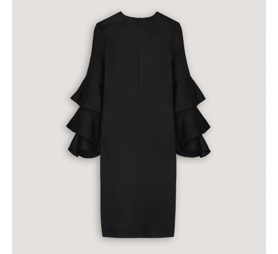 Sukienka midi z f