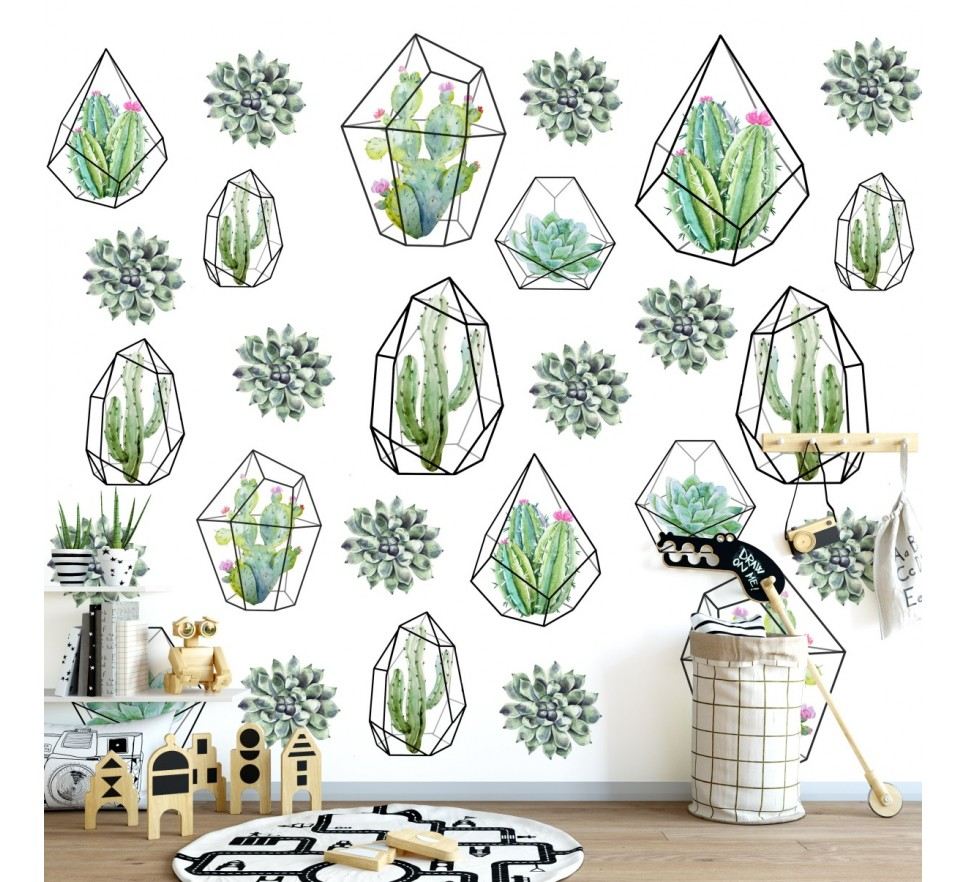 Tapeta - Mural Green House z serii EasyFit