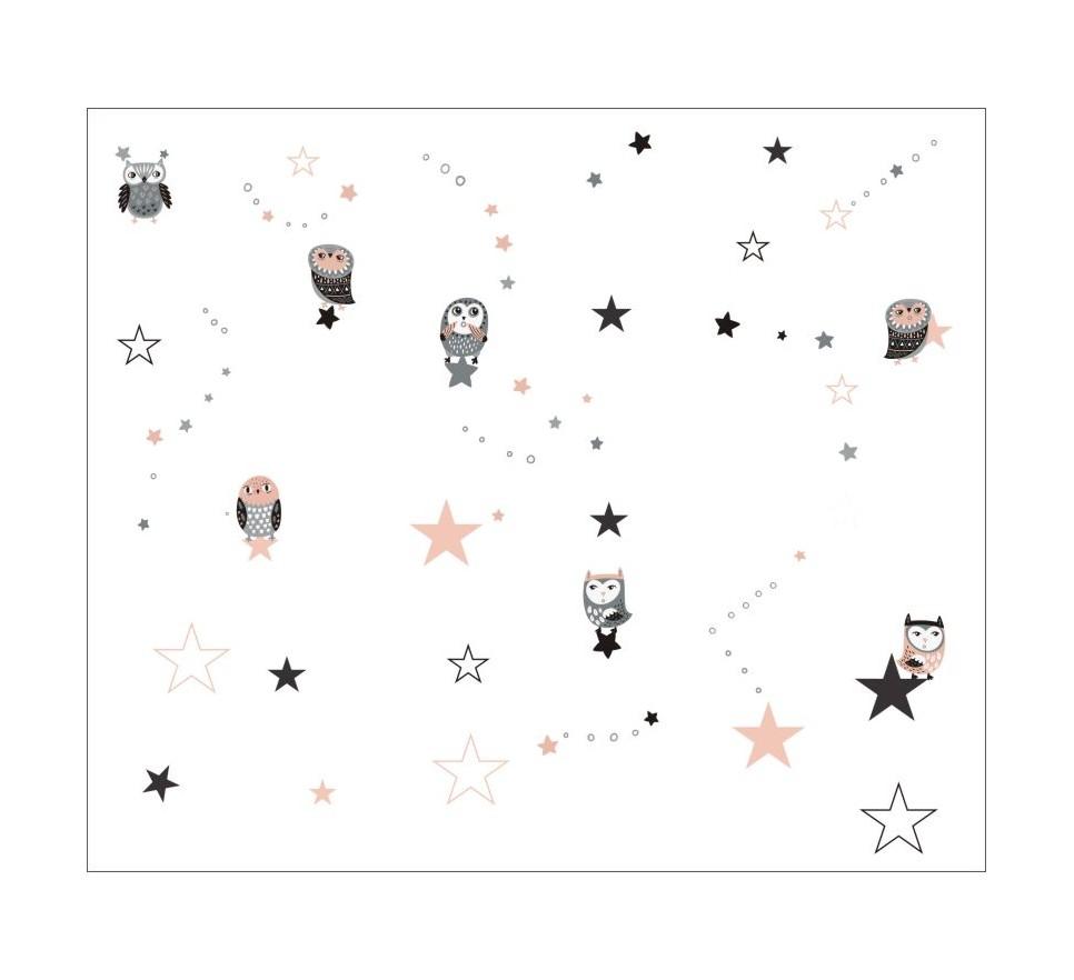 Tapeta - Mural Sova & Stars z serii EasyFit dla dzieci