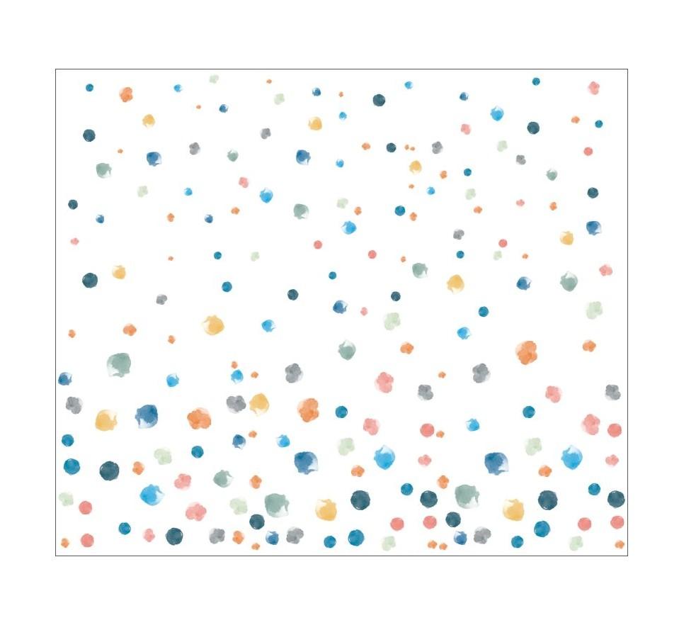 Tapeta - Mural Ciapas De Colores z serii EasyFit dla dzieci