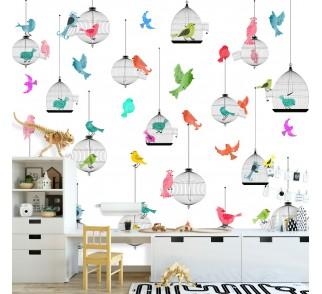 Tapeta - Mural Otwarte Klatki z serii EasyFit dla dzieci