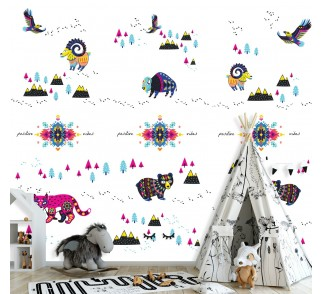 Tapeta - Mural Wild Thing z serii EasyFit dla dzieci