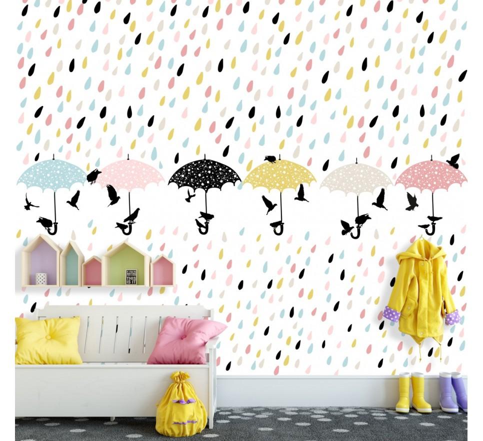 Tapeta - Mural Kapelki z serii EasyFit dla dzieci