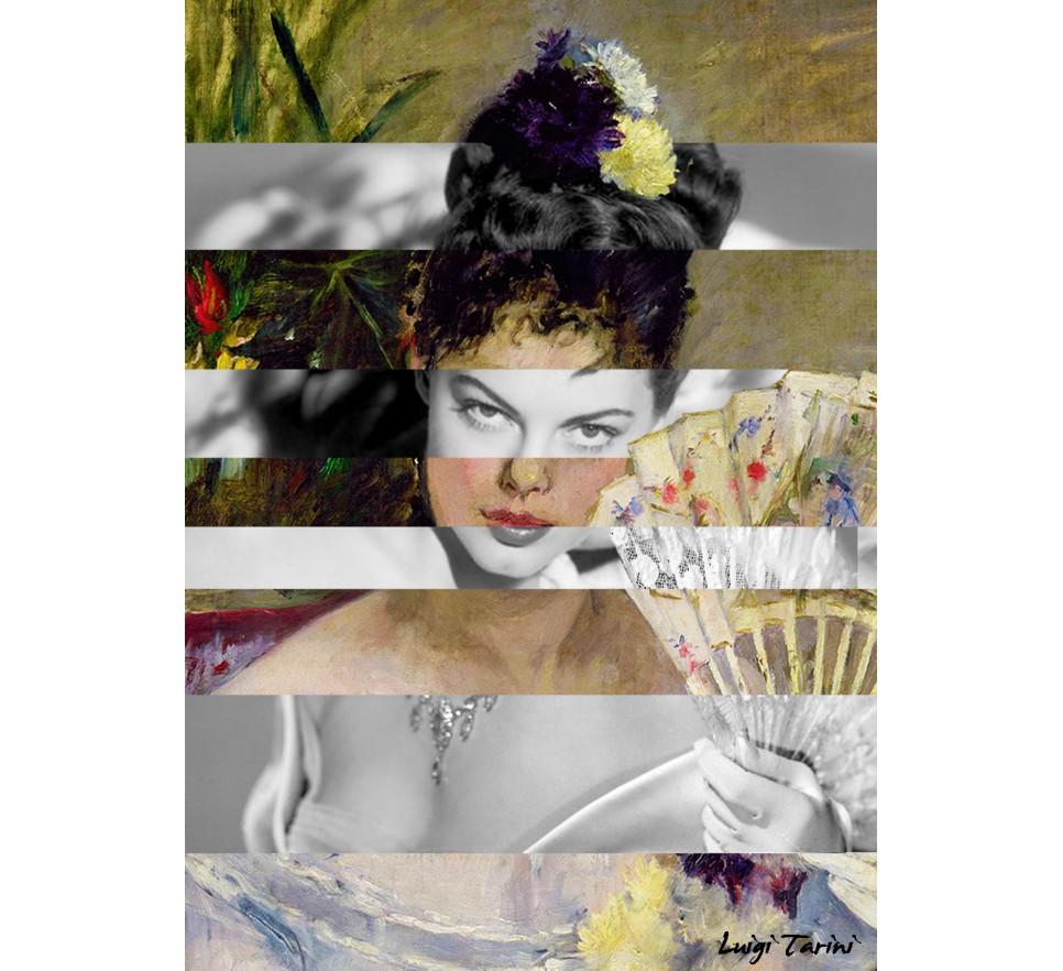 Klimt's Judith and the Head of Holofernes & Marlene Dietrich na płótnie i plakat