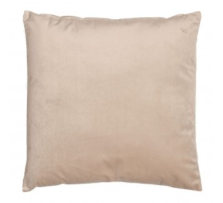 Elegancka aksamitna poduszka YES Beżowa