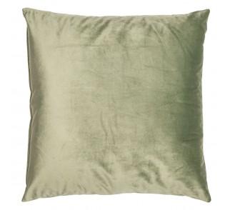 Szykowna aksamitna poduszka LAND Jedwabista zieleń