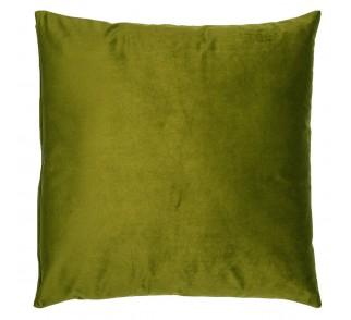 Aksamitna poduszka CYDR Oliwkowa