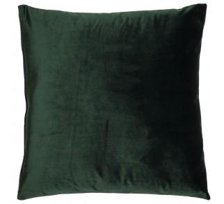 Aksamitna poduszka GRINN FINN Ciemna zieleń