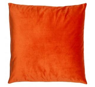 Aksamitna poduszka OLMOST LOVE Pomarańczowa